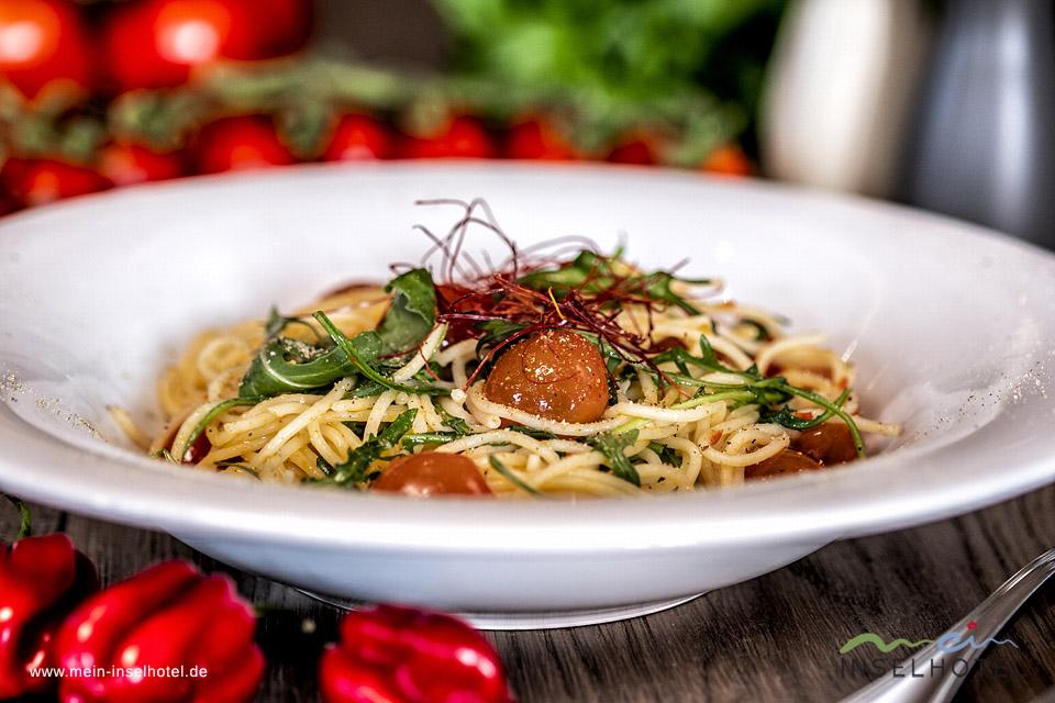 Gunnars Pasta mit Chili-Knoblauch Olivenöl